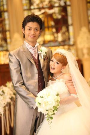 矢口結婚写真